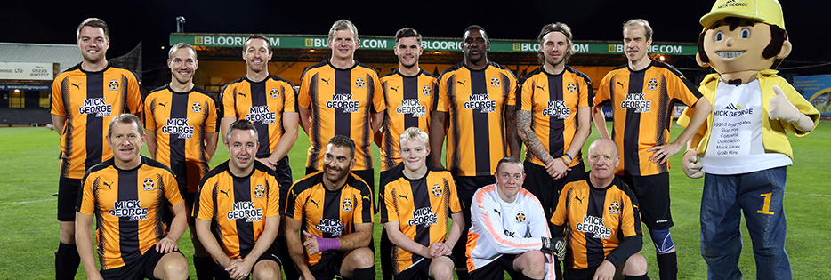cambridge united charity match