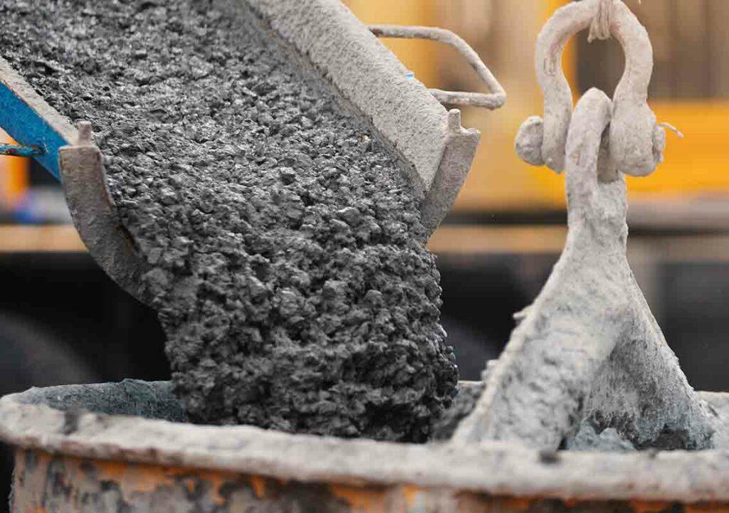 ready mixed concrete image