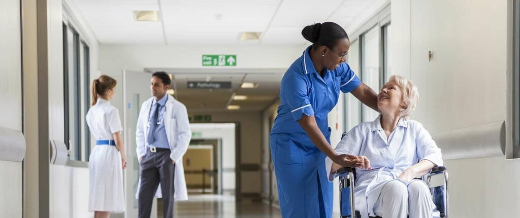 Healthcare sector image