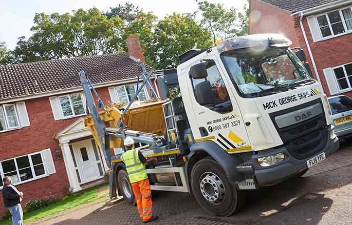 Skip Delivery Image