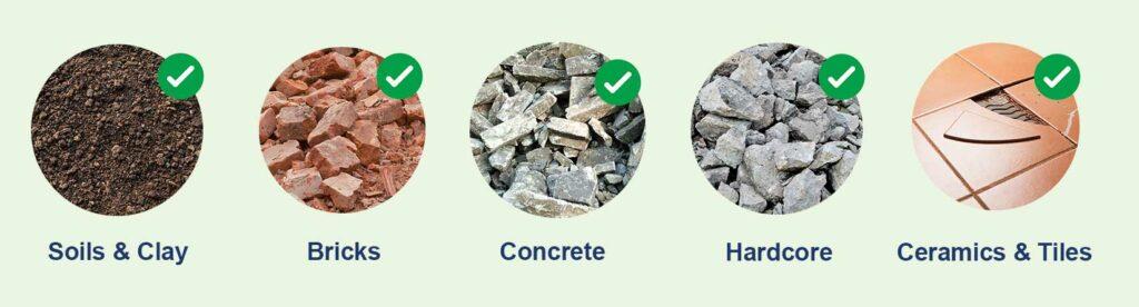 skip waste material image